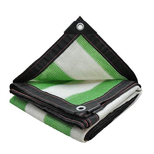Shading net Filet d'ombrage/Filets de Protection Solaire épais de Haute qualité/Plantes d'extérieur ombrées Rayures Vertes et Blanches