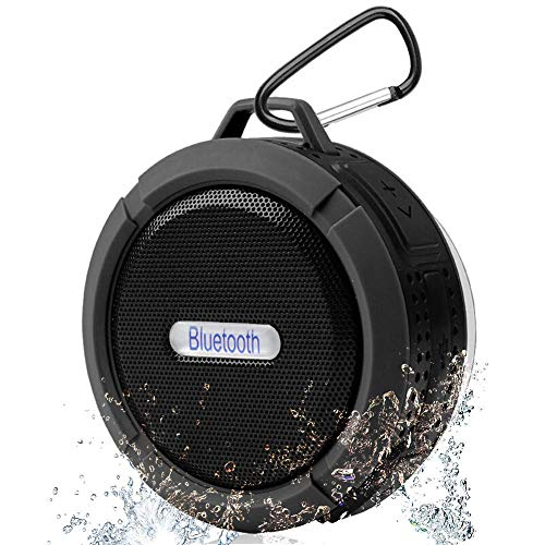 Bluetooth Speaker with 5W Driver, Suction Cup, Built-in Mic INM1854