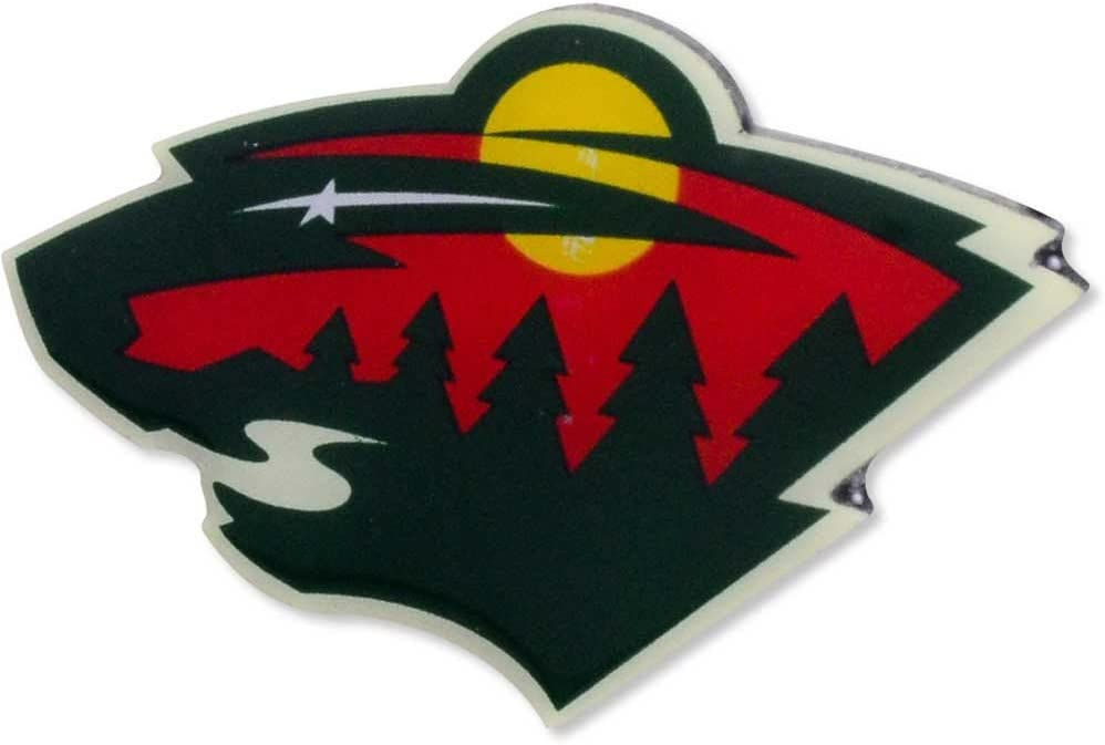 aminco NHL Minnesota New color Wild Team Logo NHL-PN-001- team Ultra-Cheap Deals Pin