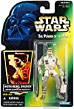Kenner Star Wars: Power of The Force Green Card  Hoth Rebel Soldier Action Figure
