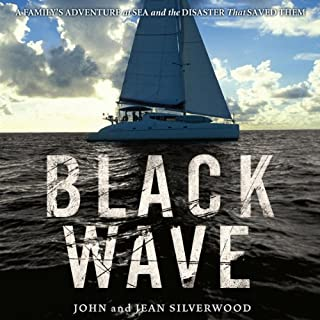 Black Wave audiobook cover art
