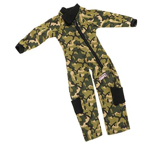 Sharplace 1/6 Soldat Militär Armee Uniform Anzug Kleidung Satz für 12 Zoll Puppen, Kinder Spielzeug - # C