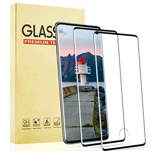 Lixuve Pellicola Protettiva in Vetro Temperato per Samsung Galaxy S10, [2 Pezzi] [9H Durezza] [Anti Graffio] [Alta Definizione] Pellicola Protettiva per Samsung Galaxy S10