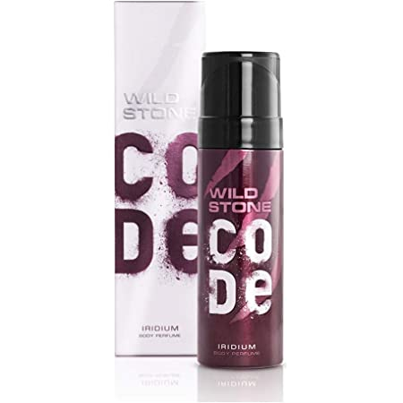 Wild Stone Code Iridium Body Perfume Spray for Men, 120ml
