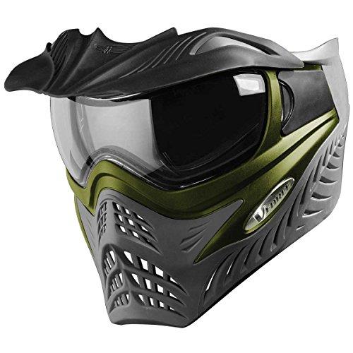 VForce Grill Paintballmaske SC Olive Green on Grey