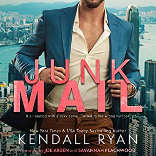 Junk Mail                   By:                                                                                                                                 Kendall Ryan                               Narrated by:                                                                                                                                 Joe Arden,                                                                                        Savannah Peachwood                      Length: 6 hrs and 8 mins     3 ratings     Overall 3.7