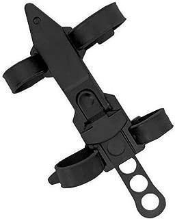 Qiorange Black Dive Knife ll, All Stainless with Line Cutter, Razor Edge and Leg Strap Sheath,Black Tactical Treasure II Dive Knife