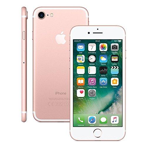 Smartphone, Apple, iPhone 7 MN912BR/A, 32 GB, 4.7'', Rosa/Dourado
