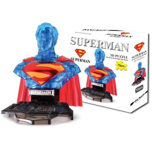 Hero 3d Puzzle - superman invisible