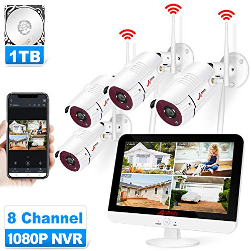 ANRAN Wireless Security Camera System with 13