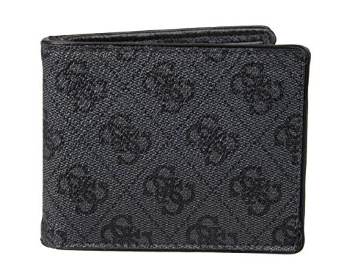 (21% OFF) GUESS Men's Leather Slim Bifold Wallet $23.04 Deal