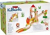 HABA-305396 Kullerbü Dominó de Gallinas Circuito de Bolas, Multicolor (305396)