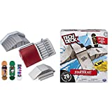 TECH DECK, Ultimate Street Spots Pack with 3 Fully Assembled Exclusive Boards, Coast to Coast Edition & Starter Kit - Ramp Set with Exclusive Board and...