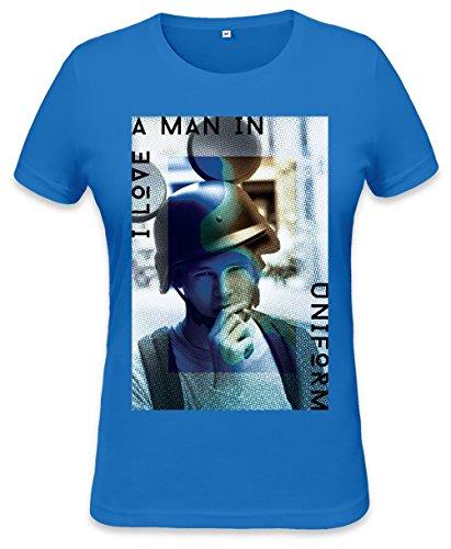 I Love A Man In Uniform Mickey Womens T-shirt Small