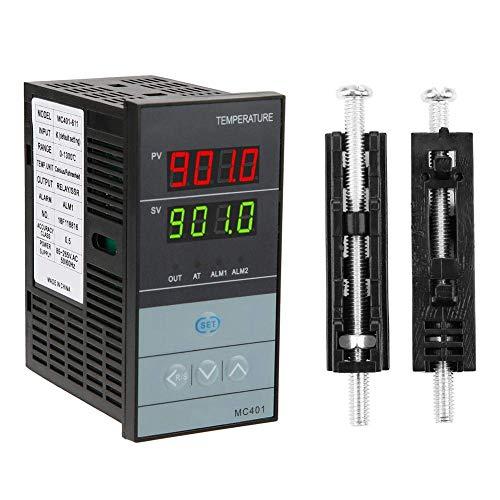 BJLWTQ RELAY, PID digital Controlador de temperatura, -199-1300 ℃ salida del termostato relé SSR Termorregulador con la función de la función de ajuste automático de autodiagnóstico y la función de co