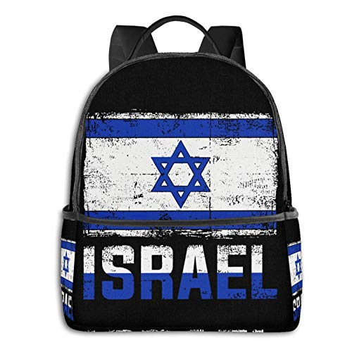 XCNGG Israeli Flag Retro Israe Backpack