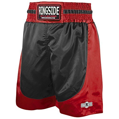 Ringside Youth Pro-Style Boxing Trunks Black, Small
