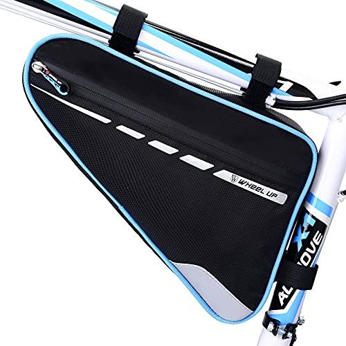 UBORSE Bolsa de Cuadro de Triángulo de Bicicleta Bolsa de Tubo Delantera Impermeable para Bicicleta Bolsa de Almacenamiento de Ciclismo para Bicicleta MTB