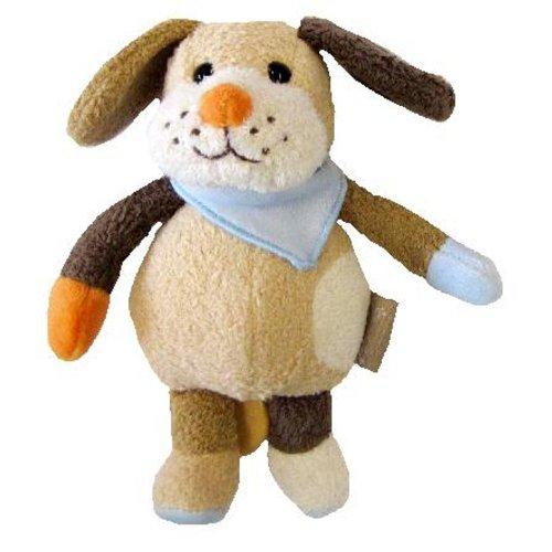 Sterntaler 62195 Mini-Spieluhr Filu Hund 16 cm zum Anbinden spielt La-Le-Lu