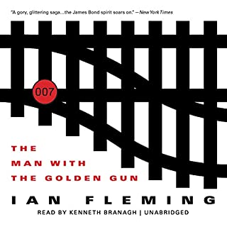 The Man with the Golden Gun audiobook cover art