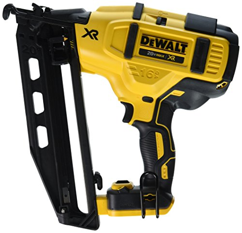 DEWALT 20V MAX Finish Nailer, Angled, 16GA, Tool Only...