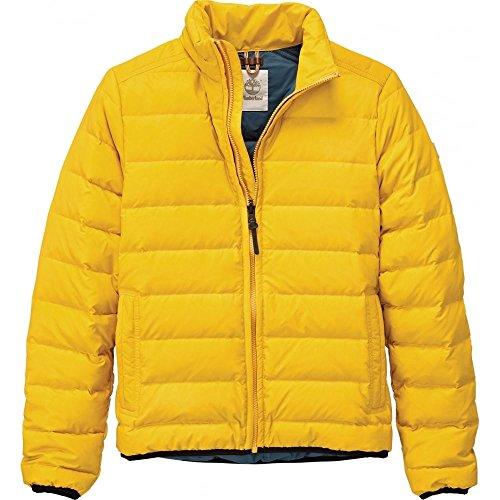 Timberland Herren Daunenjacke Bear Head Gelb, Größe:S, Farbe:gelb