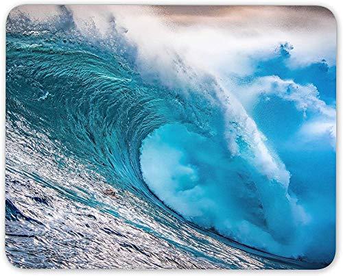 Mauspad, Surf Barrel Wave Ocean Sport Mausmattenpad - Super Spaß Computer PC Geschenk