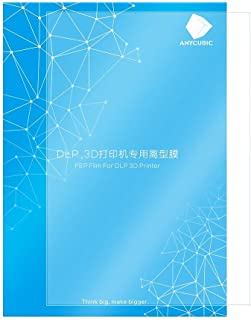 ANYCUBIC FEP Lámina de Teflón para Impresora 3D Anycubic LCD DLP Photon Photon S (200 x 140 x 0.15mm) 1pcs