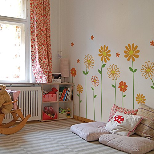 simple shapes wall decals - 8