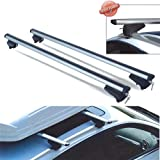 PICK-UP XL barre da tetto 135 cm per auto con railing integrati