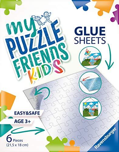 Ravensburger 13301 My Puzzle Friends Glue Sheets-Klebefolien Kinderpuzzle, White