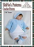 Crochet Pattern - CP64 - baby boy jacket , hat & shorts - UK terminology (English Edition)