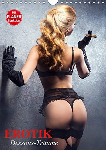 Erotik. Dessous-Träume (Wandkalender 2020 DIN A4 hoch): Schöne Frauen in verführerischer Reizwäsche (Geburtstagskalender, 14 Seiten )