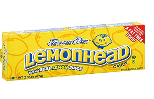 Lemonhead Candy 150 Count Tub