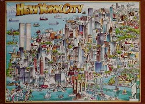 City of New York City Jigsaw Puzzle by Buffalo Games