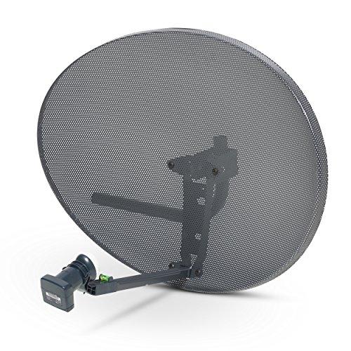 SSL Satellites Zone 2 Satellite Dish & Quad Lnb for Sky   FreeSat   Hotbird   Astra  Polesat