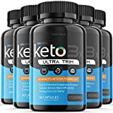 (5 Pack) Keto Trim Pill Weight Loss Diet Pills 1100 mg Shark Tank Advanced Loss Extra Strength Formula Fast Pills (300 Capsules)