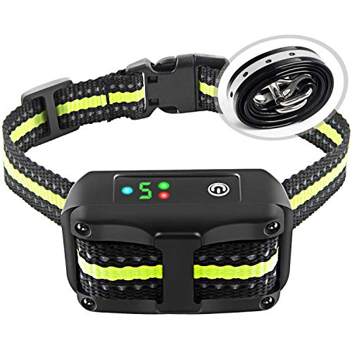 Bark Collar for Small Medium Large Dogs with Beep Vibration and Shock