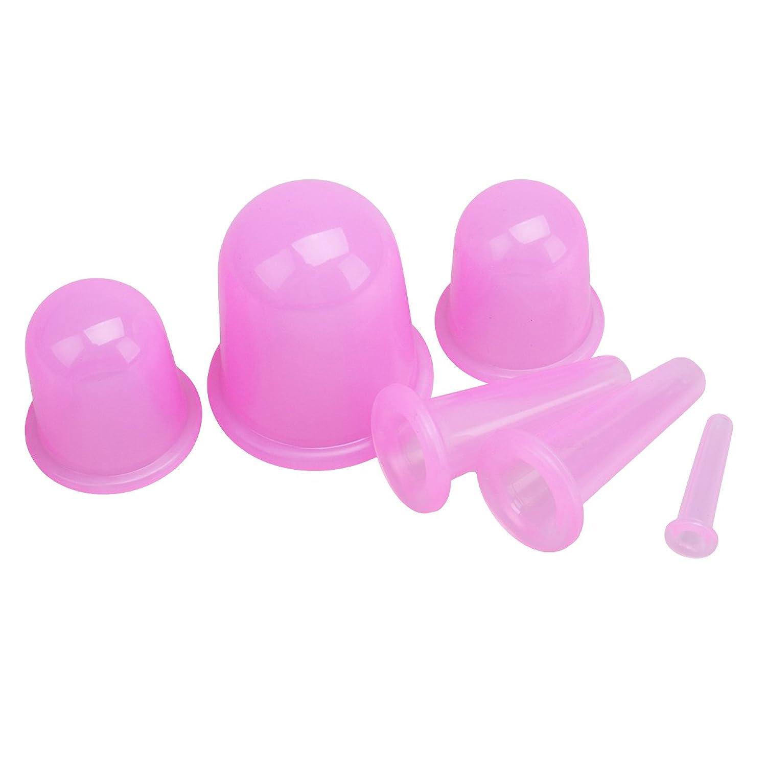計画に関してトランクHealifty 吸玉 真空 カッピング 吸い玉 脂肪吸引 シリコン ボディマッサージカップ 筋肉痛救済 男女兼用 6本(ピンク)