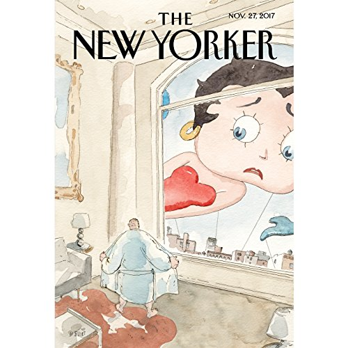 The New Yorker, November 27th 2017 (Alex Okeowo, Alec Wilkinson, Nick Paumgarten) cover art
