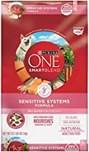 Purina ONE Natural, Sensitive Stomach Dry Dog Food, SmartBlend Sensitive Systems Formula - 31.1 lb. Bag