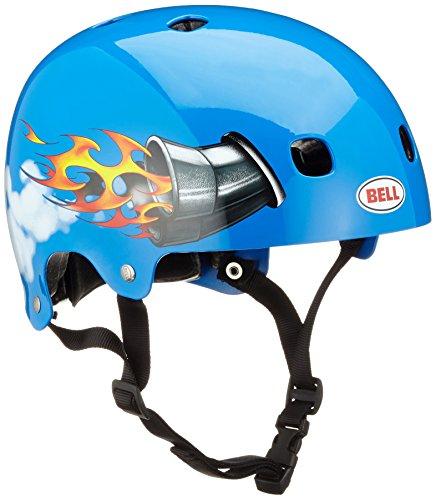 BELL Casco Btt Niño Segment Graphics Azul Nitro (48-53Cm = 18.90-20.87', Azul)