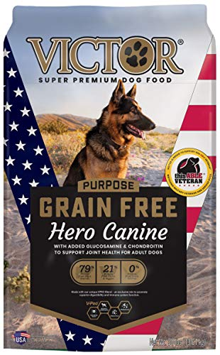 VICTOR Purpose - Grain Free Hero Canine, Dry Dog Food 30 lbs