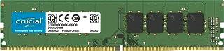 Crucial 4GB DDR4-2666MHz CL19 UDIMM 1.2V Desktop Memory - CB4GU2666