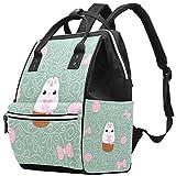 Wickeltasche, Vintage-Design, Mandala-Mosaik-Muster, große Kapazität, Handtaschen, Leinen, Schulterrucksack, Wickeltaschen für Babypflege
