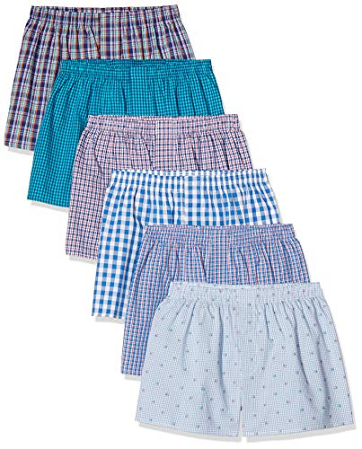 CityLife, 6er Pack Boxershorts, Mehrfarbig (Classic Multicolour 5 C-6-5), Large (Herstellergröße: L)