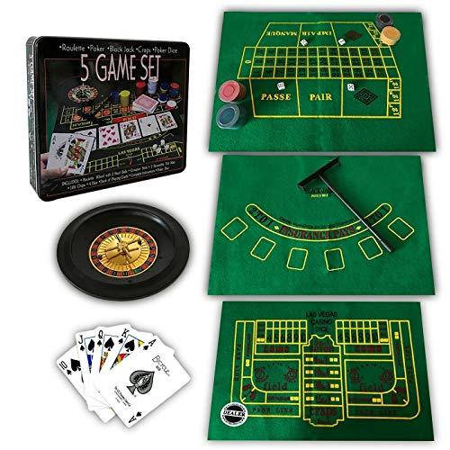 Roulette Niños y Adultos Ruleta Game Set Juego de apuestas - Juego de Tablero