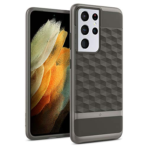 Caseology Parallax Compatible with Samsung Galaxy S21 Ultra Case 5G (2021) - Ash Gray