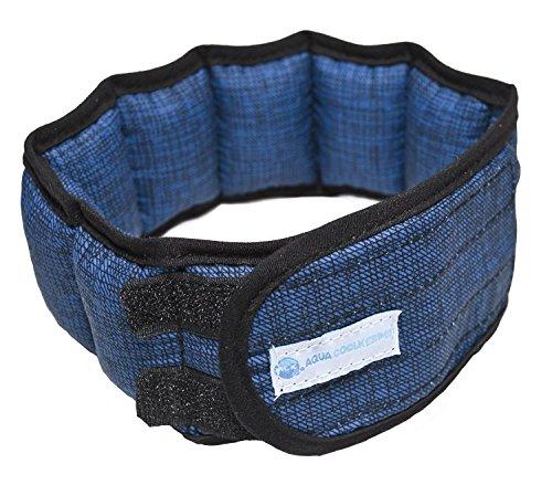 Aqua Coolkeeper Cooling Halsband, Pacific Blue, XL