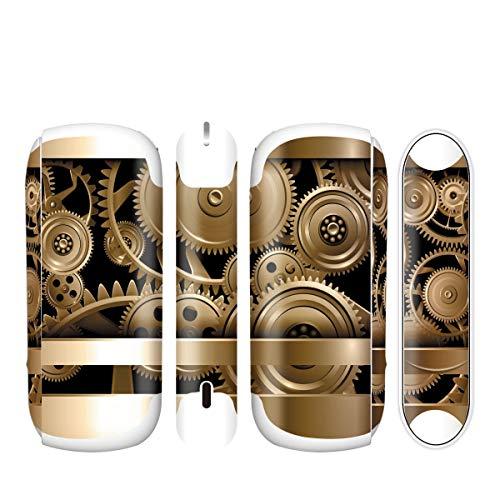 電子たばこ タバコ 煙草 喫煙具 専用スキンシール 対応機種 iQOS 3 アイコス 3 Metal (メタル) イメージデザイン 03 Metal (メタル) 01-iq08-0043